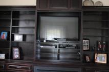 TV built into unit